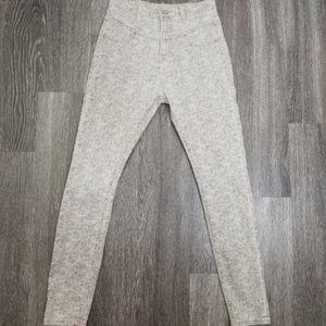 SUPER CUTE BDG High Waist Floral Skinny Jeans